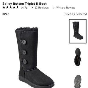 UGG® Bailey Button Triplet II Boot